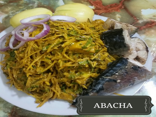 Abacha Food (African Salad)