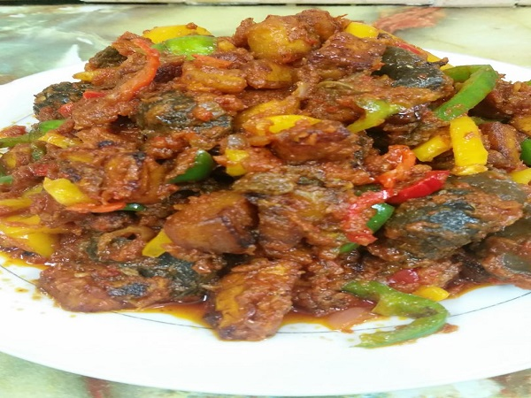 Healthy Nigerian dinner dishes