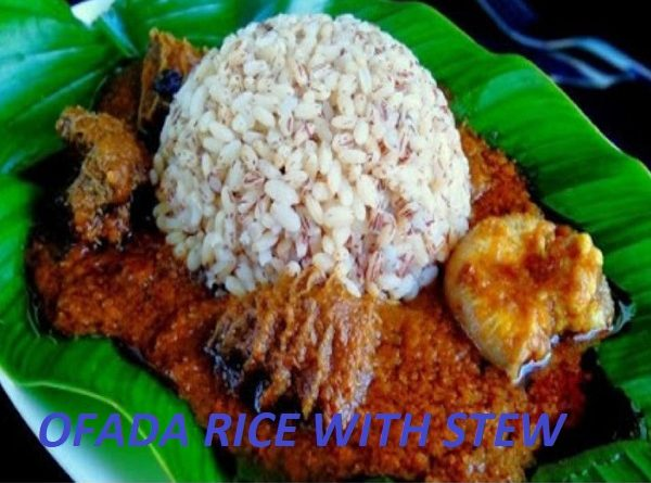 9jafoods: Ofada Rice with Stew