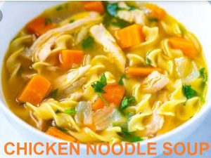 chicken soup recipe with noodles