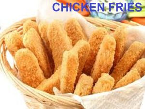 Simple chicken fry