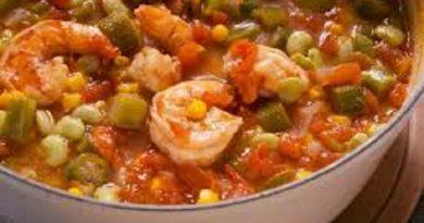 Okro Soup With Shrimp