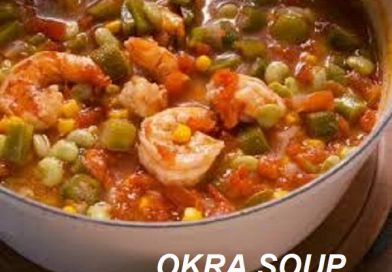 Okro Soup With Shrimp