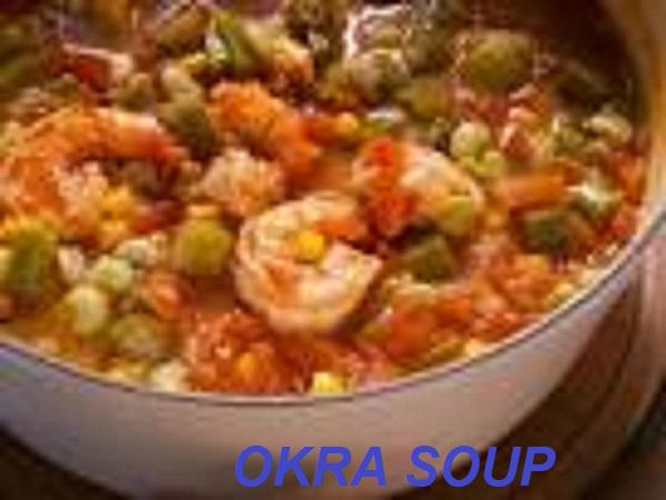 Okro Soup with shrimp recipe
