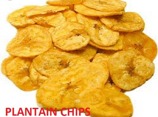 Crunchy Plantain chips recipe