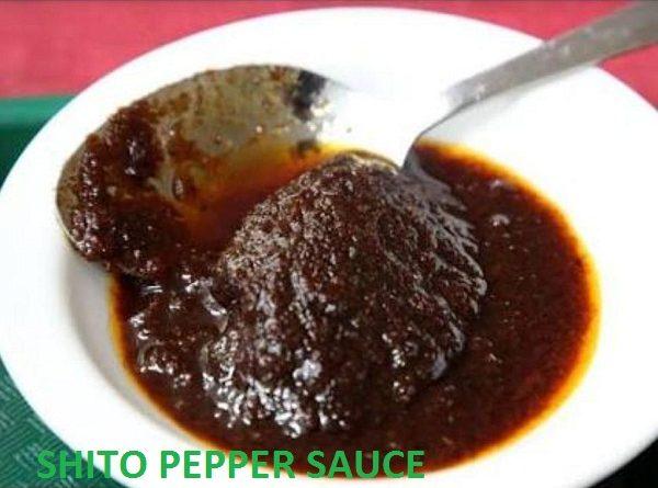 shito pepper sauce