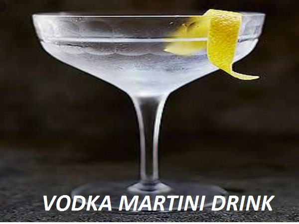 vodka martini drink