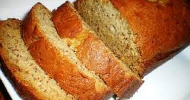 Easy Banana Bread Nutrition