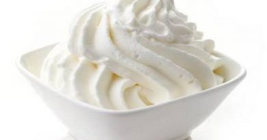 Fresh whipped cream