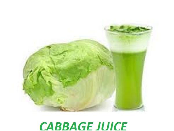 cabbage juice drink