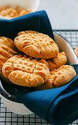 Easy keto peanut butter cookies image