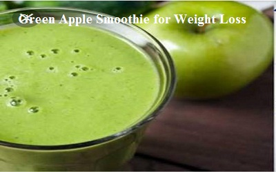 Green Apple Smoothie for Weight Loss