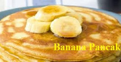 Low-Calorie Breakfast - Healthy Banana Pancake Recipe