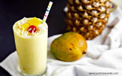 Healthy Mango Pineapple Smoothie Image