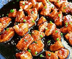 spicy honey garlic chicken