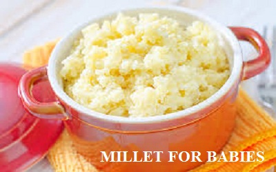 Organic baby food - Millet Baby Cereal