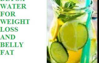 Homemade detox water