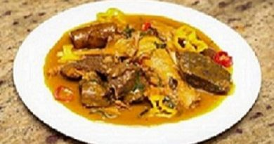 Nigerian Ibaba Soup Image