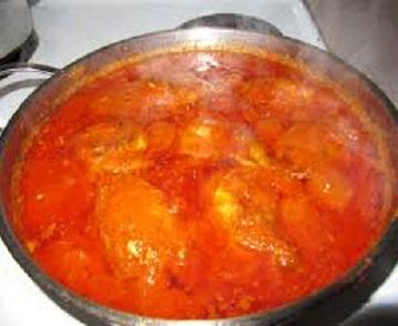 Simple Nigerian chicken stew