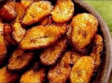 Nigerian fried plantain image