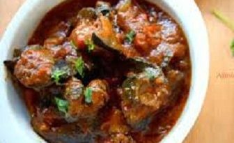 Nigerian spicy snail stew image