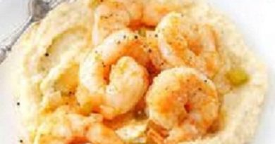 Classic Shrimp and Grits Recipe Image