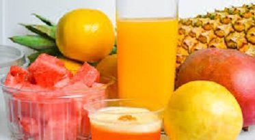 Mango Orange Pineapple juice Recipe Image
