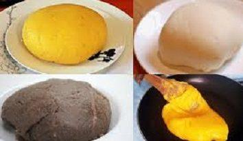 Delicious Nigerian Swallows