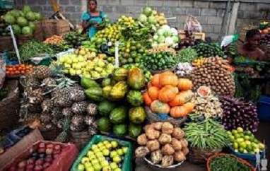 Nigerian local fresh fruits