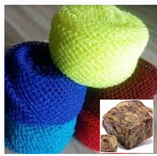 African Sponge Net and Black Soap