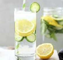 Lemon Cucumber Water for Weight Loss