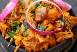Nkwobi food