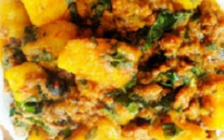 Recipe of the day, Nigerian beans and yam Porridge