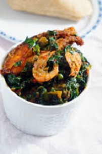 Efo riro vegetable soup