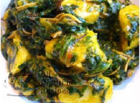 Vegetable Yam Porridge