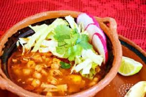 Pozole Authentic Mexican Corn Soup