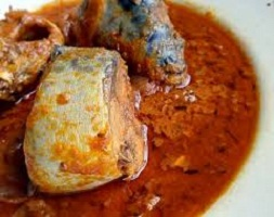 Mackerel and Tomato Sauce Recipe
