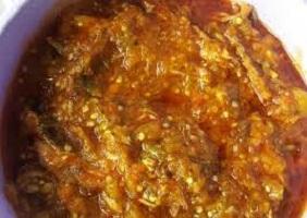 Nigerian Garden Egg Stew