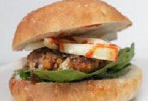 Nigerian Yam Burger 1