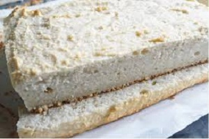 Garri Cake African Desert