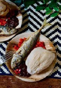 Kenkey with Fresh Fish Recipe