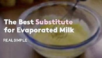 Evaporated Milk Substitute At Home