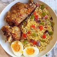 Nigerian Indomie Recipe How to Make Indomie Noodles