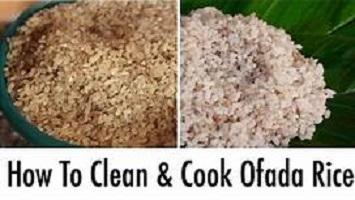 Recipe for Making Nigerian Ofada Rice