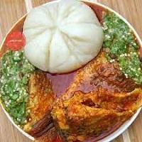Banku and Okro Stew Recipe Ghana Style