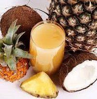 Homemade Pineapple Coconut Juice Recipe