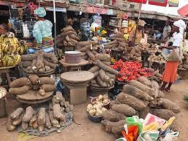 The Cheapest Food Market in Lagos Picture