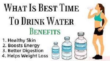 Best Time to Drink Water for Weight Loss