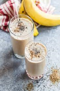 Chia Banana Smoothie for Weight Loss