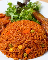 How To Prepare Ghanaian Jollof Rice with Vegetables